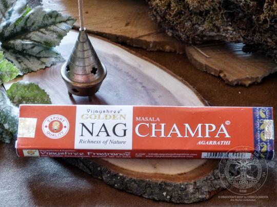 Räucherstäbchen - Golden Nag Champa