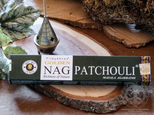 Räucherstäbchen - Golden Nag Patchouli
